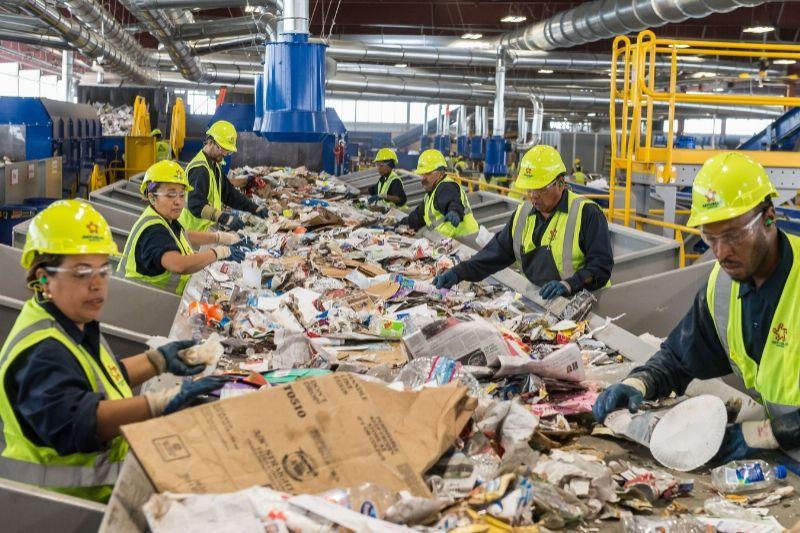 Republic Opens Massive Las Vegas Recycling Facility | Waste