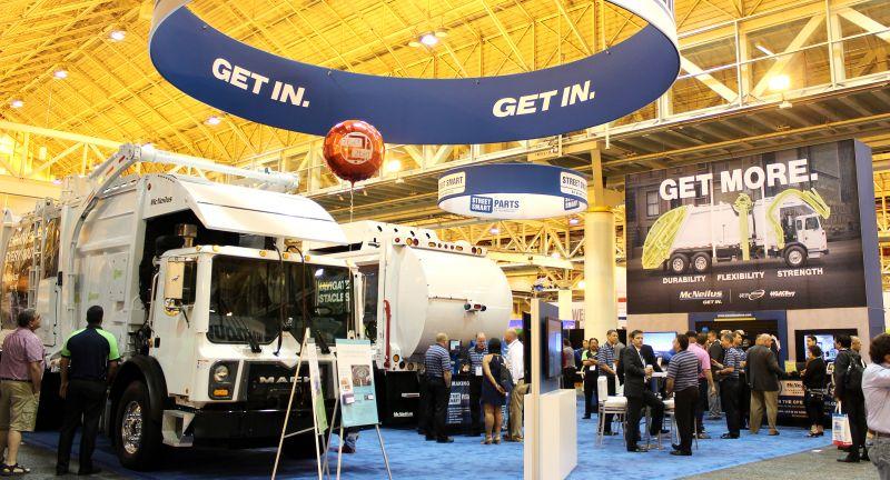 McNeilus Truck & Manufacturing, waste, rcv, truk, garbage truck, waste expo