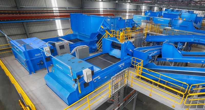 Bulk Handling Systems, cleanaway, recycling, MRF, optical sorting, perth, australia