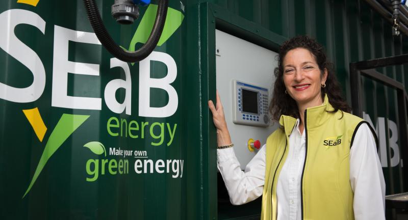 Sandra Sassow, CEO and Co-founder, SEaB Energy