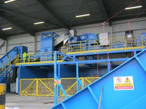 MIddleton Engineering, Amey, recycling, balers, optical sorting, MRF, Steinert