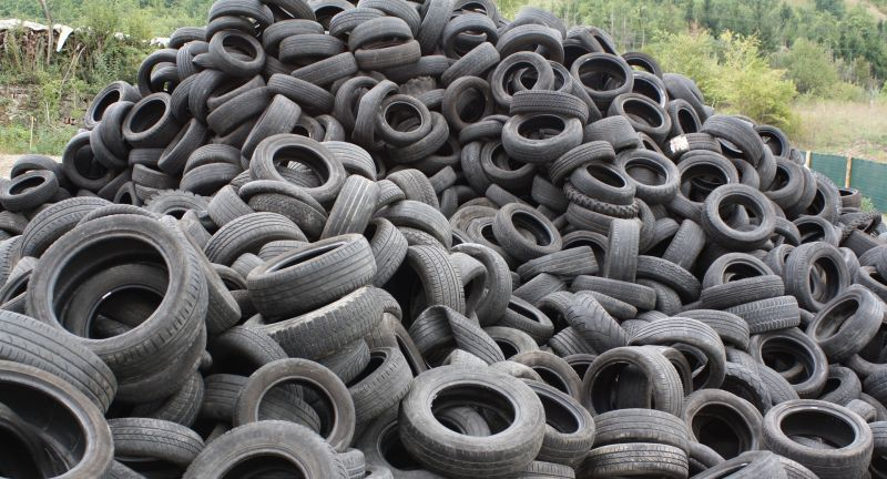 tyres, tires, waste management, new zealand, pacific rubber
