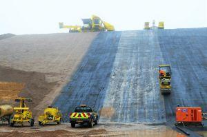 WALO UK, landfill, lining, DAC, biffa, westmill, hertfordshire, waste