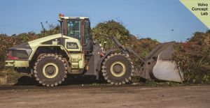 Volvo Construction Equipment, waste management, hybrid wheel loader, LX1, landfill