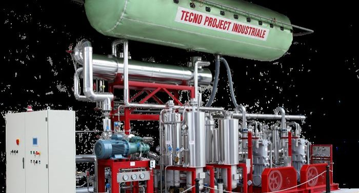 Tecno Project Industriale, biogas, upgrading