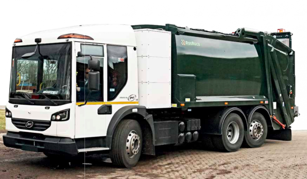 HANDS ON: 26t Zero-Emission Electric Refuse Collection