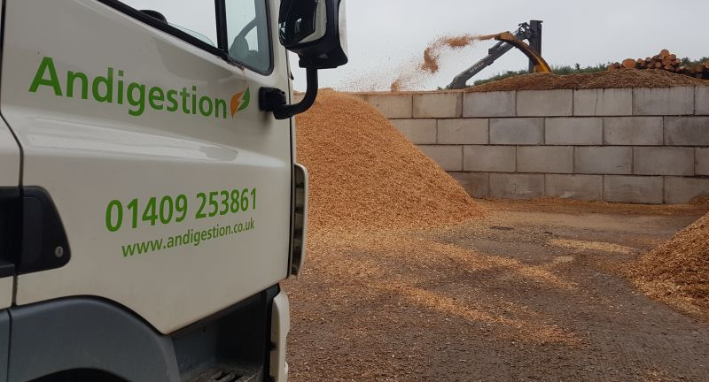 andigestion, anaerobic digestion, biofuel, wood chips, biogas, food waste