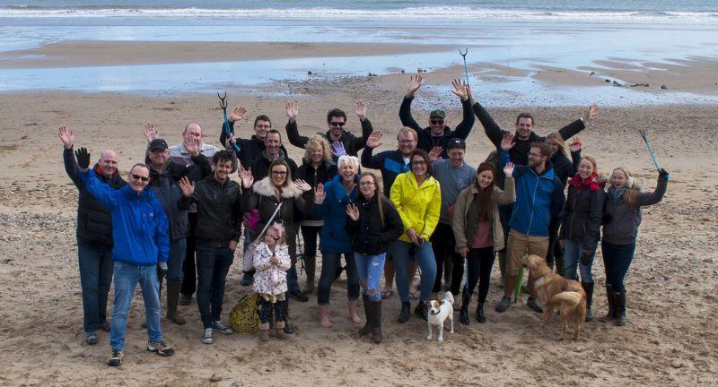 Cromwell Polythene, recycle week, beach, litter, marine debris