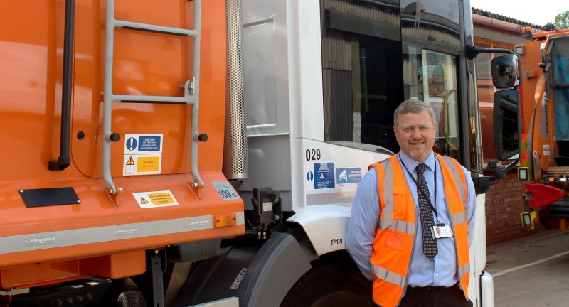 Vision Techniques, ident, refuse collection vehicle, garbage truck theft, middlesborough