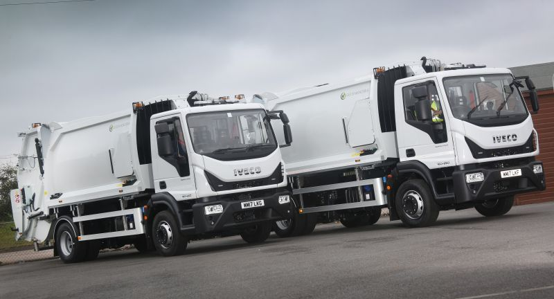 IVECO, waste, recycling, eurocargo, riverside, refuse collection vehicle