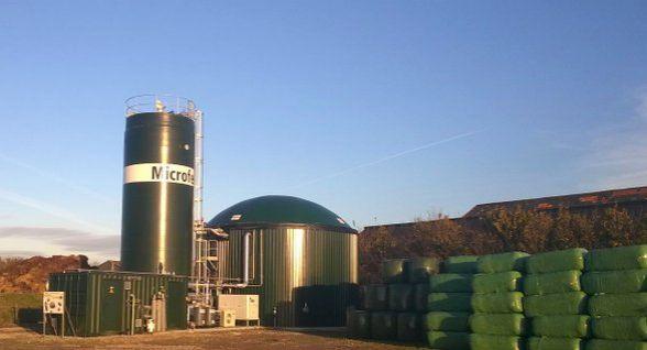 Microferm, anaerobic digestion, farm waste, gas to grid