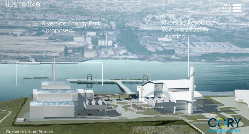 Cory Riverside Energy, waste to energy, london