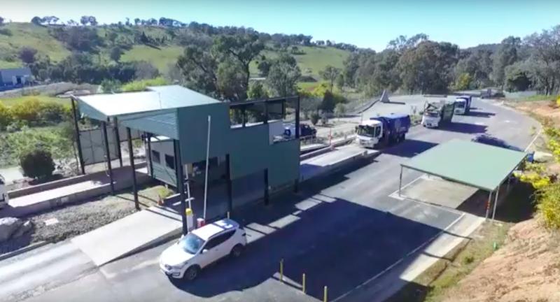 Albury Waste Management Centre, halve waste, landfill, australia, mra consultants