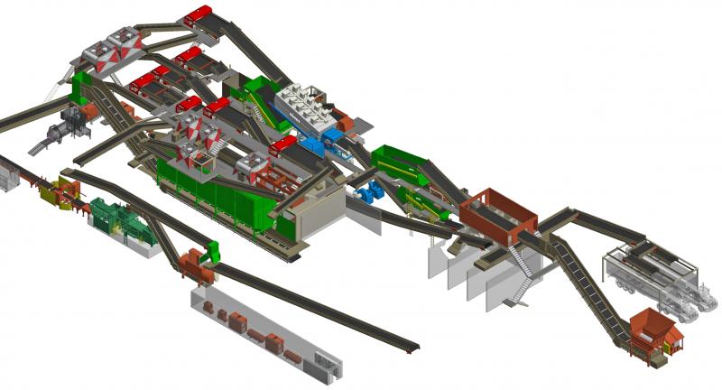 Bulk Handling Systems, recycling, max ai, sorting, optical sorting, mrf, repower