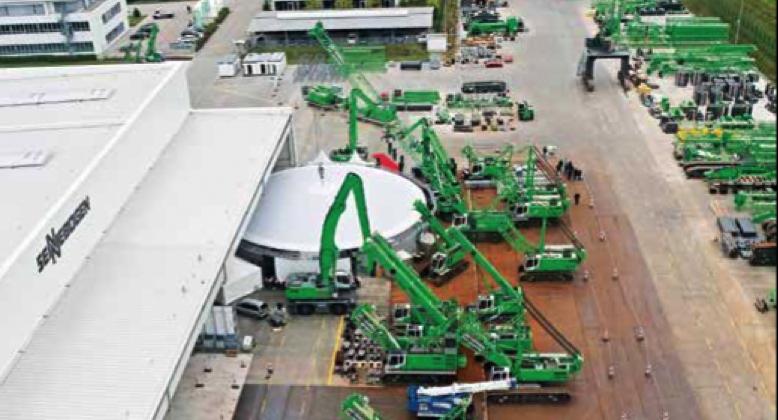 Sennebogen Maschinenfabrik GmbH, waste, recycling