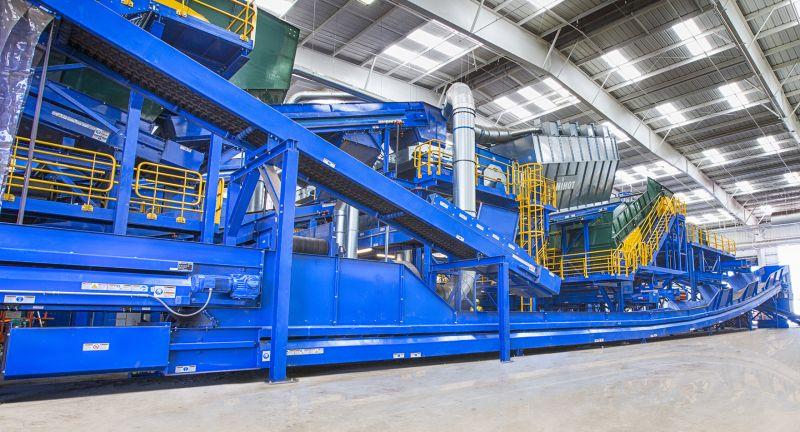 Bulk Handling Systems, montery, recycling, plastics, waste, C&D waste, C&I waste, MRF