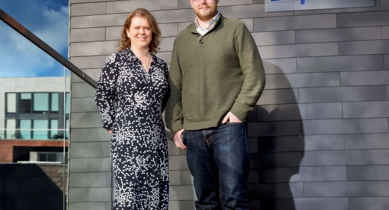 Sophie Walker and Tom Passmore, Co-Founders of Dsposal - Pic Credit Des Fildes