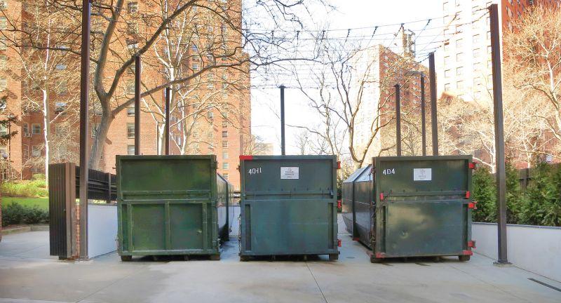 CTA Architects, new york, waste, recycling, storage, Morningside Gradens
