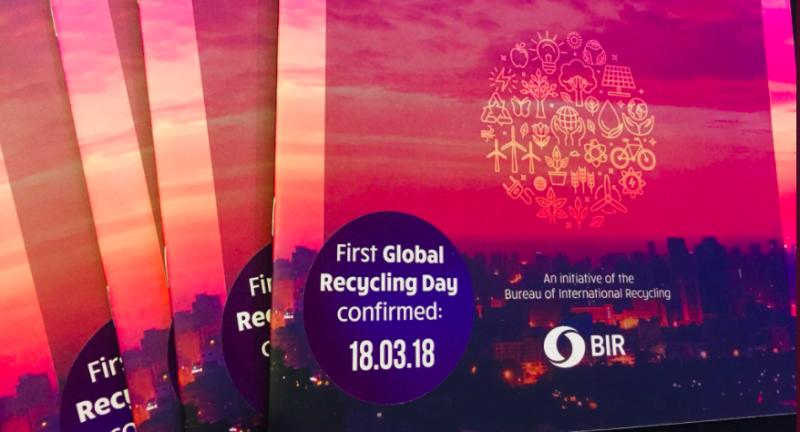 Bureau of International Recycling, recycling, global recycling day