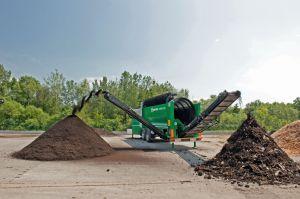 Komptech, ifat, communications, waste, biowaste, compost, shredding