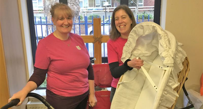 veolia, salvation army, reuse, waste, baby items