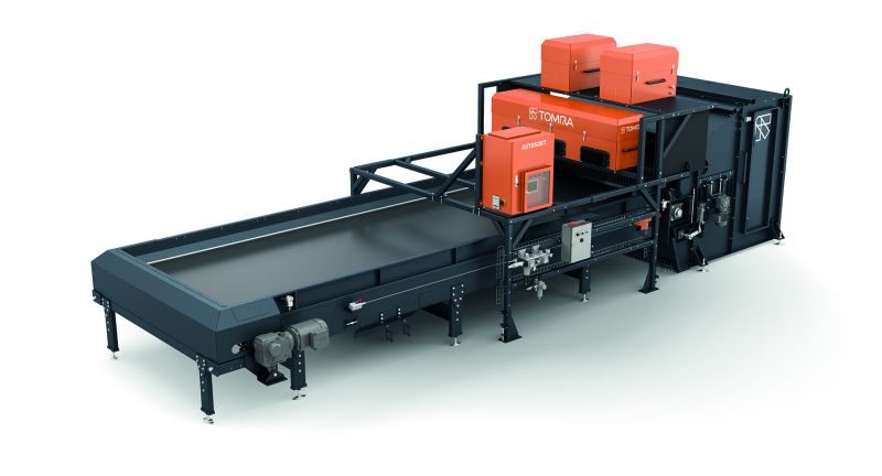 TOMRA Sorting, autosort, optical sorting, waste, recycling, laser object identification