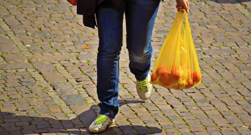 Miljøstyrelsen, plastic, bags, waste, recycling