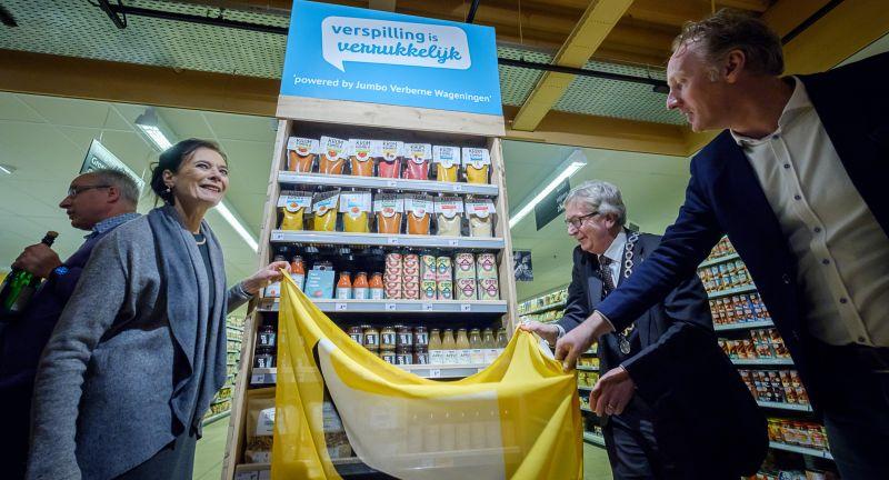 Wageningen University & Research, food waste, champions