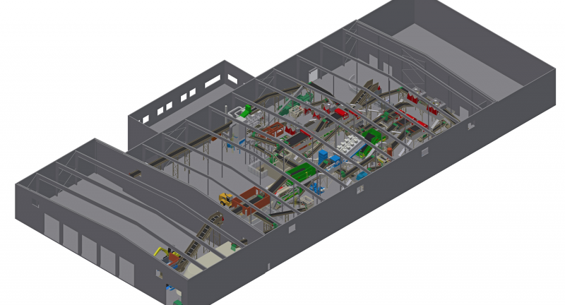 Berkeley County Recycling and Recovery Facility, bulk handling systems, repower south