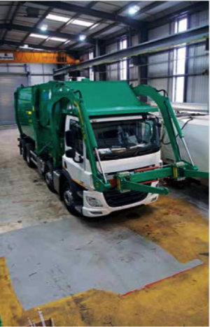 NTM, Refuse collection vehicle, garbage truck, kidderminster, expansion
