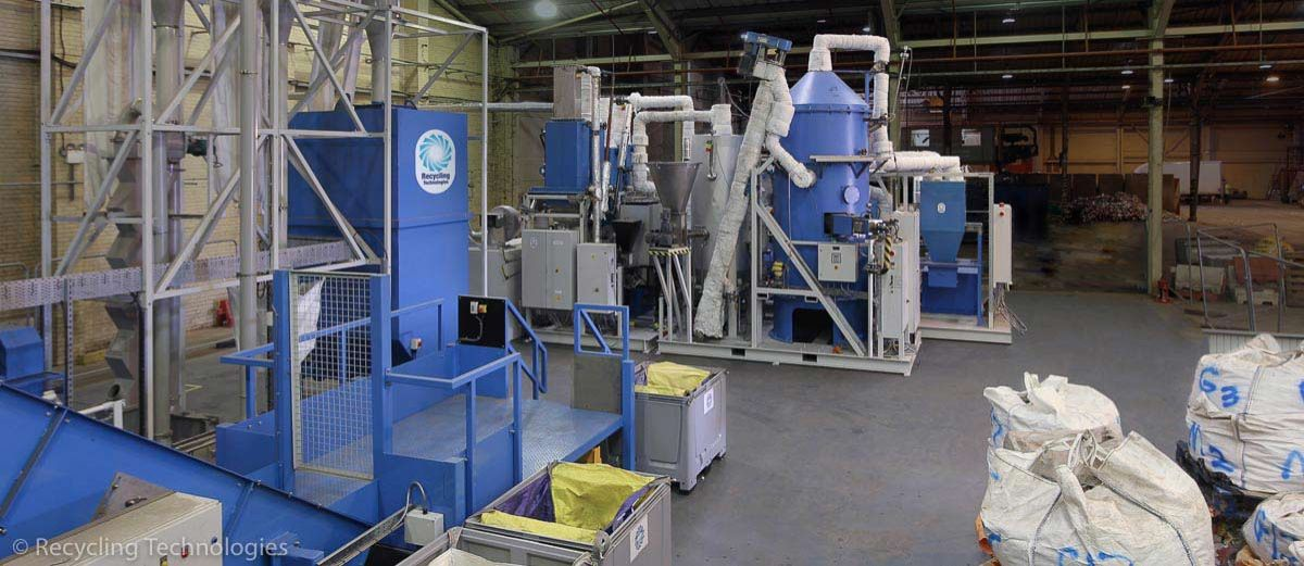 Plastics Recycling Technology Firm Secures £65m Deals with