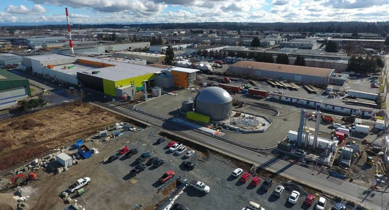 biogas, anaerobic digestion, organic waste, food waste, british columbia, biogas
