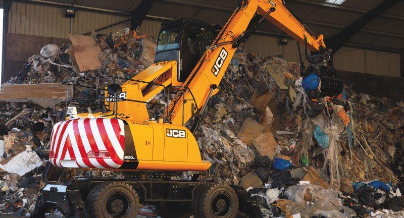 jcb, wastemaster, recycling, scrap
