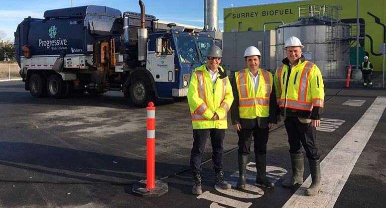 James Priestley, Mike Leopold, Renewi, Rob Costanzo, City of Surrey, anaerobic digestion, waste, recycling