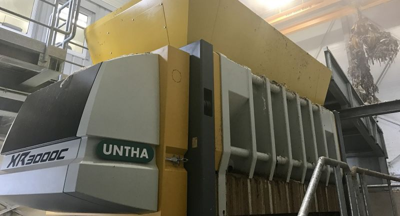 untha, waste, shredding, paper mill, rdf, waste to energy, recycling