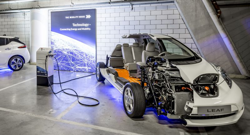 nissan, battery, recycling, reuse, energy storage, amsterdam, Johan Cruijff ArenA