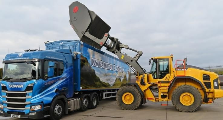 Willian Hamilton & Sons, waste, recycling, road sweeping, volvo, l150h