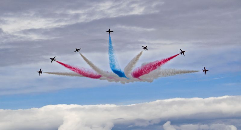 Wales Airshow, waste, recycling, plastics, pet, recoup, plastics, packaging
