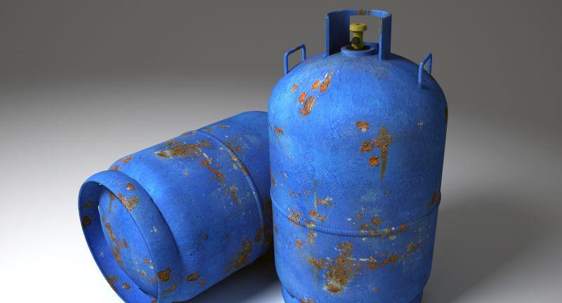 gas cyclinder, recycling, veolia