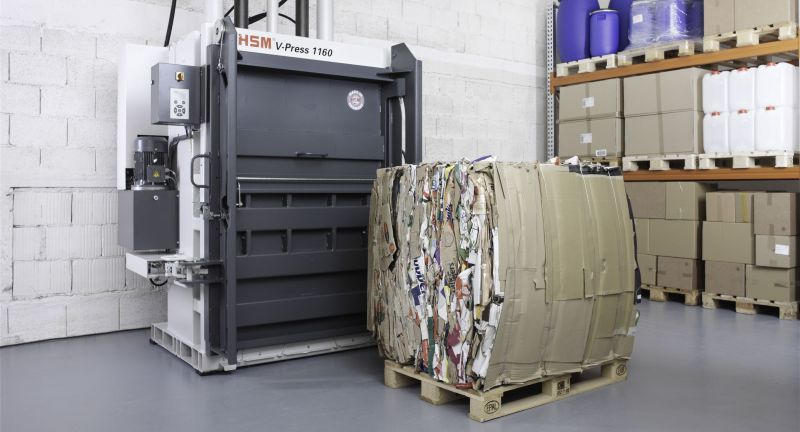 hsm uk, david coleman, waste, baling, packaging, cardboard, paper, plastics