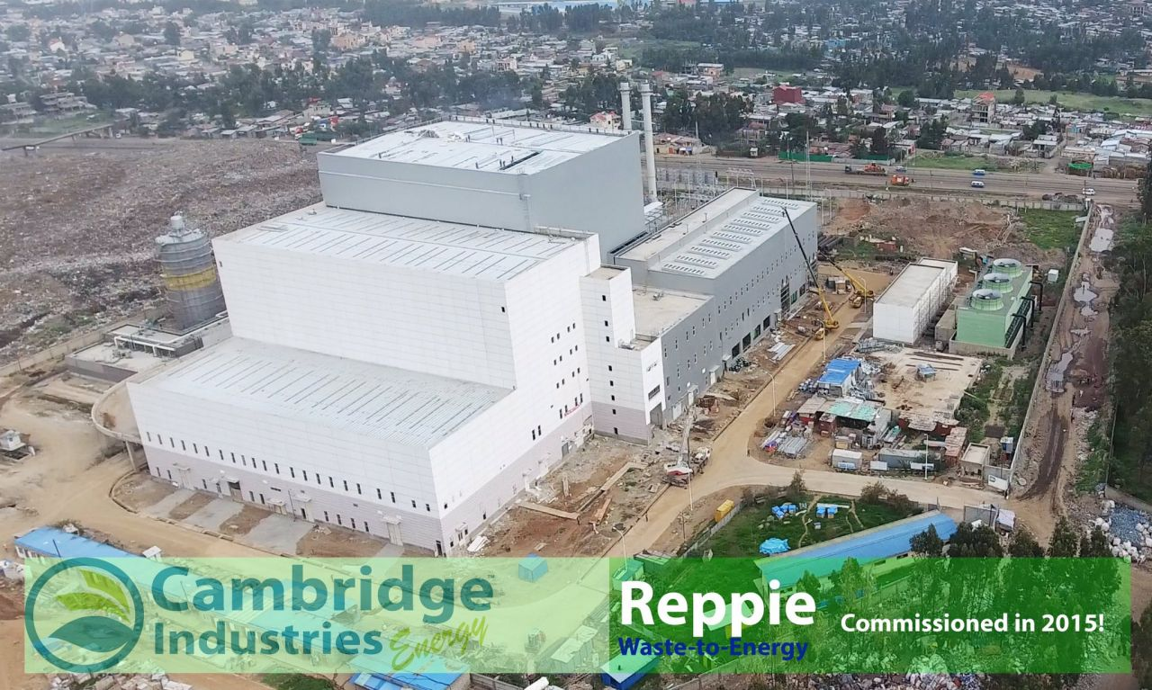 VIDEO: Reppie Waste to Energy Plant Opens in Addis Ababa