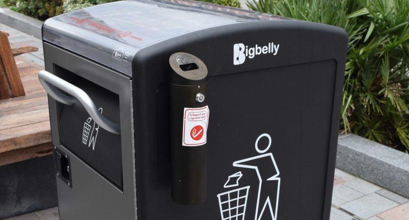 Egbert Taylor Group, bigbelly, smartbin, waste, recycling, darlington