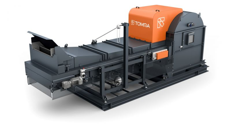 TOMRA Sorting Recycling, x-tract, sorting