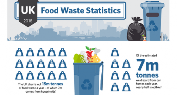 InSinkErator, inforgraphic, food waste