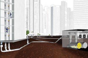 envac, waste, collection, singapore