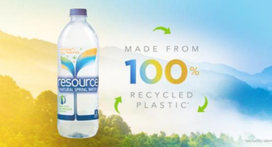 Nestle Waters, bottles, recycling, pet, plastics, packaging, carbonlite