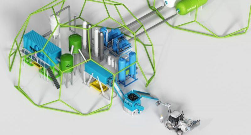 PowerHouse Energy, waste, hydrogen, toyota, waste to energy, gasification