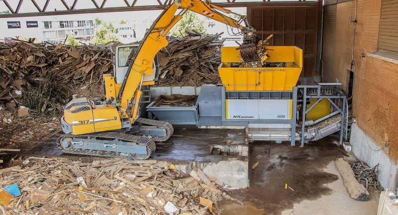 untha, Altola, waste, biomass, shredding