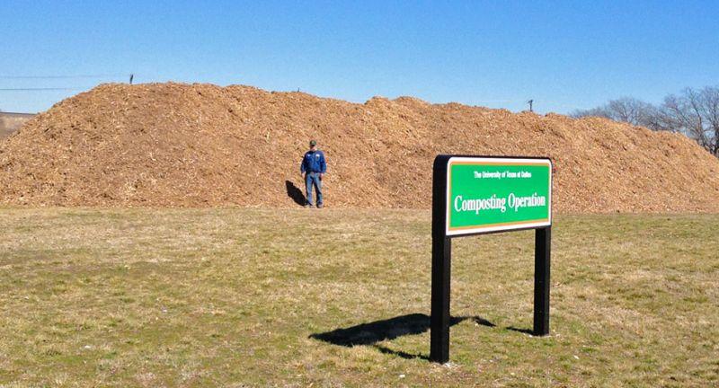 UT Dallas, Composting