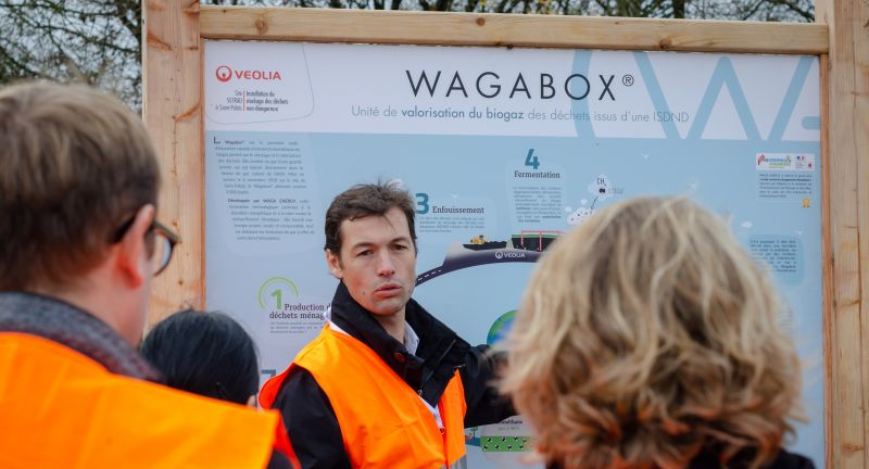 WAGA ENERGY, waste to energy, landfilll, biogas, biomethane, france